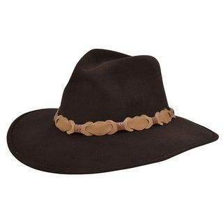 Alamo Cowboy Hat Crushable Felt Keeneland Fabric Brown 24070