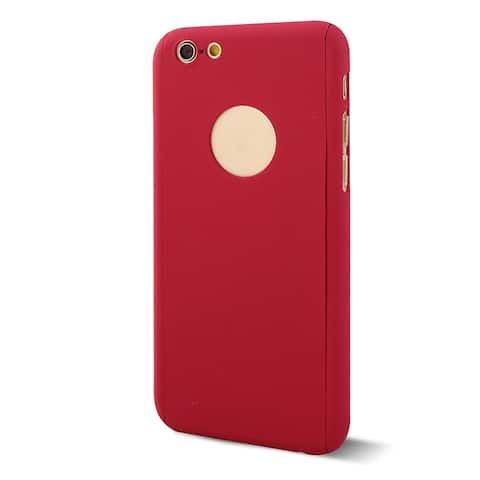 Plastic 360 Full Coverage Protection Case Shell Cover for iPhone 6 4.7