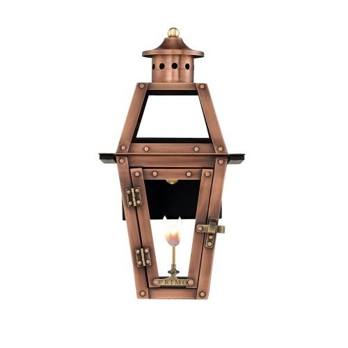"Primo Lanterns OL-15G Orleans 13"" Wide Outdoor Wall-Mounted Lantern Natural Gas Configuration"