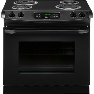 Frigidaire FFED3015P 30 Inch 4.6 Cu. Ft. Drop-In Electric Range with One-Touch Self Clean Oven and Ready-Select Controls