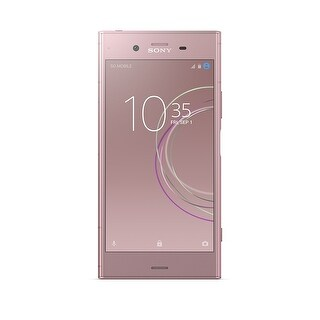 Sony XPERIA XZ1 Factory Unlocked Cell Phone (Venus Pink)