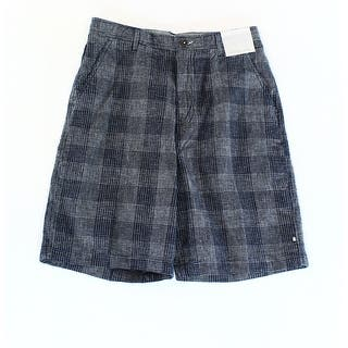 GEOFFREY BEENE NEW Blue Men Size 32 Classic Fit Plaid Flat Front Shorts|https://ak1.ostkcdn.com/images/products/is/images/direct/3f64bcac9fa76e2329c22c7d43047211e11a7f55/GEOFFREY-BEENE-NEW-Blue-Men-Size-32-Classic-Fit-Plaid-Flat-Front-Shorts.jpg?impolicy=medium