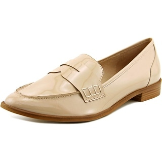 Lust for Life Noa Women Round Toe Patent Leather Nude Loafer