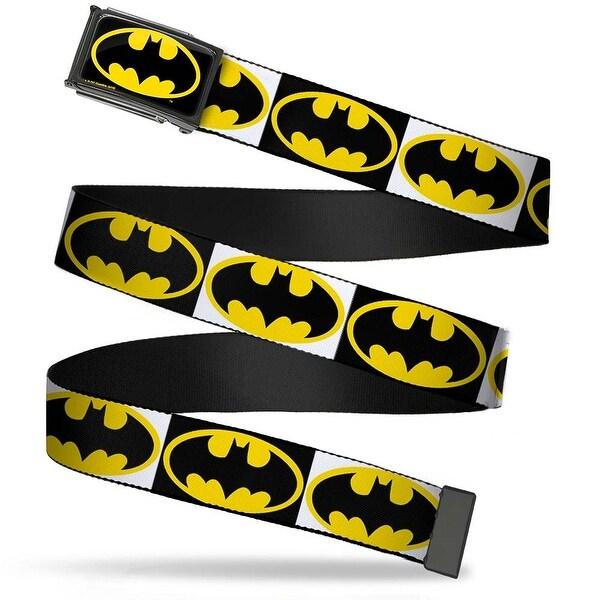 Batman Fcg Black Yellow Chrome Batman Shield Blocks White Black Yellow Web
