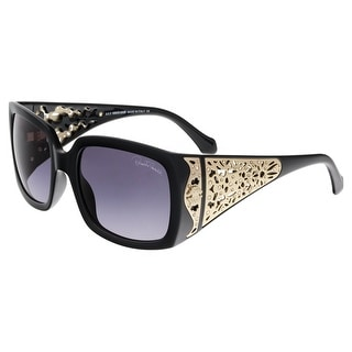 Roberto Cavalli RC804S ALDEBARAN 01B Black Rectangle Sunglasses