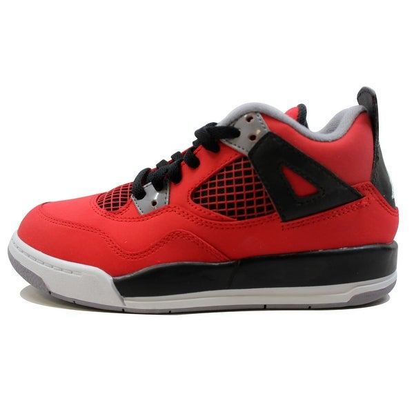innovative design 17f54 23a3a ... italy nike pre school air jordan iv 4 retro fire red white black cement  79e4f afec6