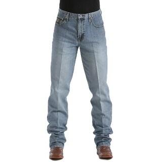 Cinch Western Denim Jeans Mens Black Label Rlx Med Wash