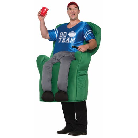 Mens Armchair Quarterback Funny Halloween Costume - Standard - One Size