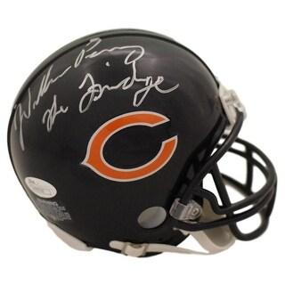 William Perry Autographed Chicago Bears Mini Helmet The Fridge JSA
