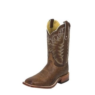 Tony Lama Western Boots Mens Vintage Smooth Ostrich Chocolate O4177