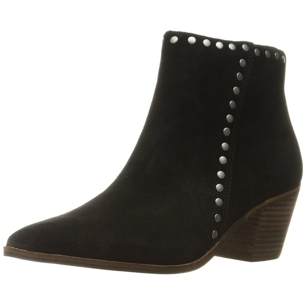 Lucky Brand Womens Linnea Leather Closed Toe Ankle Fashion Boots
