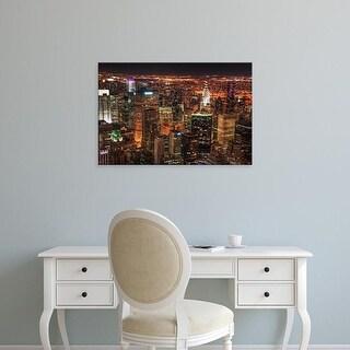 Easy Art Prints Natalie Mikaels's 'Diamonds in the Sky' Premium Canvas Art