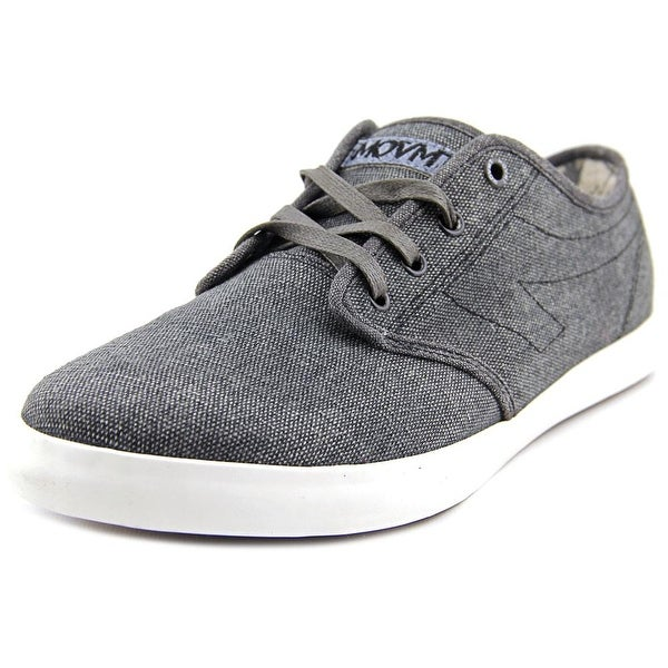 Movmt Marcos Men Washed Black Sneakers Shoes
