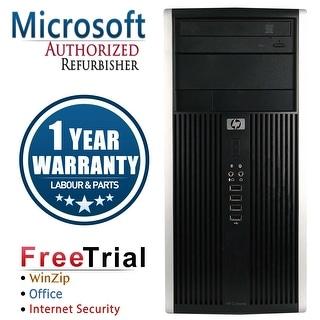 Refurbished HP Compaq 6000 Pro Tower Intel Core 2 Quad Q6600 2.4G 4G DDR3 250G DVDRW Win 7 Pro 64 Bits 1 Year Warranty - Black