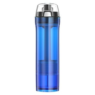 Thermos tritan 22oz hydration bottle w/ nsf 53 filter blue