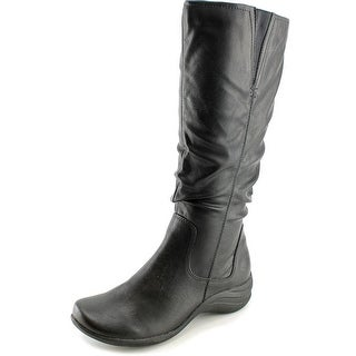 Hush Puppies Feline Alternative Wide Calf Women Synthetic Mid Calf Boot