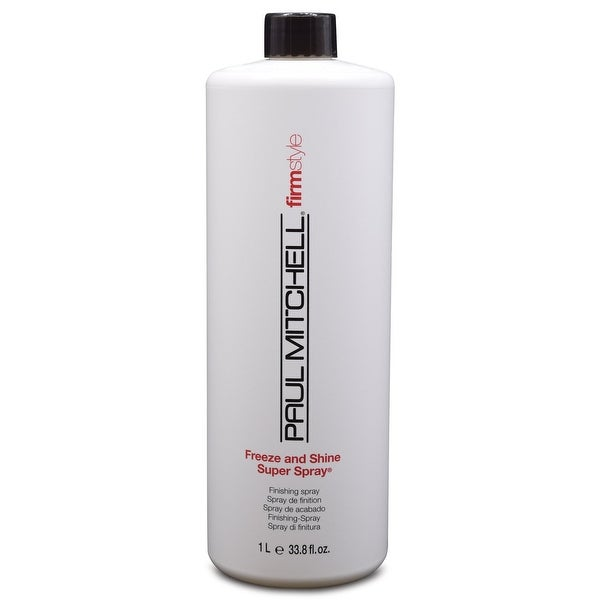 Paul Mitchell Freeze and Shine Super Spray 33.8 fl Oz