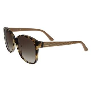Lacoste L701/S 218 Tortoise Round sunglasses Sunglasses
