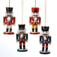 "Club Pack of 36 Traditional Christmas Nutcracker Ornaments 4"" - multi"