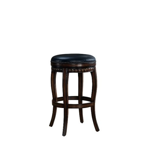 "American Heritage Billiards Alonza Counter Stool Alonza 26.5"" Tall Wood Frame Counter Stool"