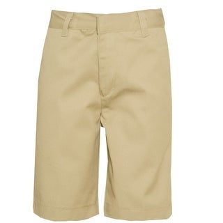 Authentic Galaxy Boys Khaki Button Detail School Uniform Shorts