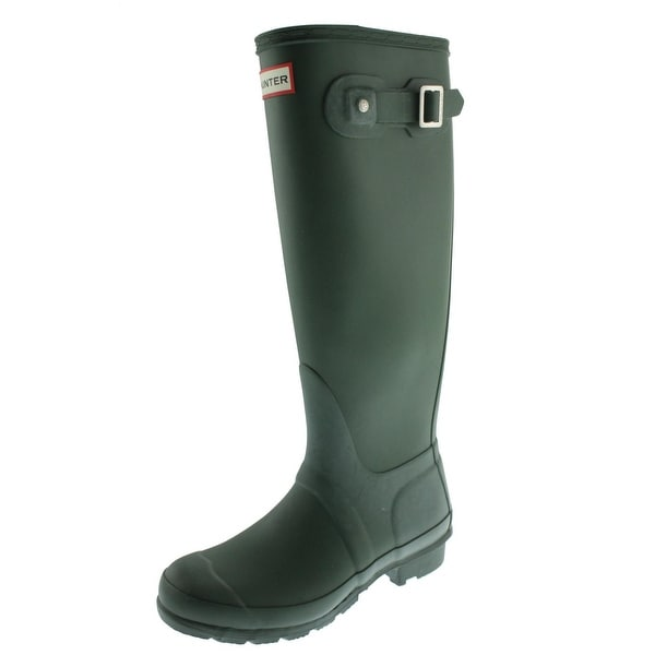 Hunter Womens Original Tall Rain Boots Rubber Knee High by Generic