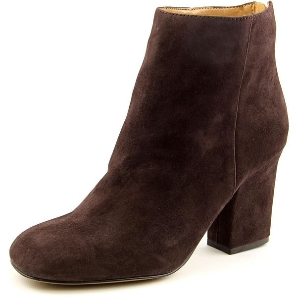 Nine West Genevieve   Round Toe Suede  Ankle Boot