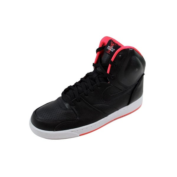 Nike Men's RT1 High Black/Black-University Red 354034-006 Size 10