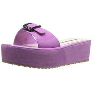 C LABEL Women's Mollini-30 Platform Sandal - 7
