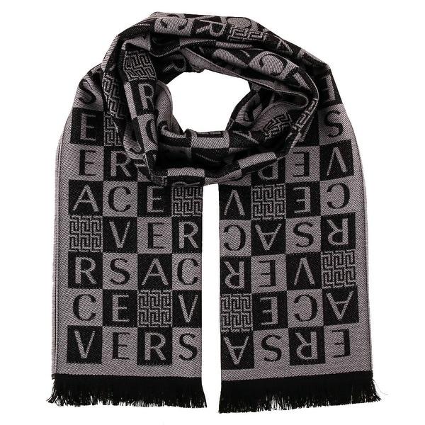 Versace IT00629 100% Wool Mens Scarf