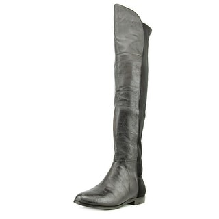 CL By Laundry Riley Women  Round Toe Synthetic Black Over the Knee Boot