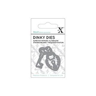 Docrafts Xcut Die Dinky Heart Lock & Key