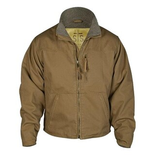 StS Ranchwear Western Jacket Boys Bridger Leather Mushroom