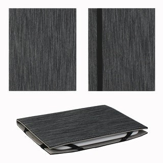 "Classic Stripe Universal 6"" Book Case (Black) - Black"
