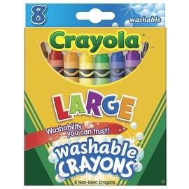 Crayola 8Ct Washable Crayons
