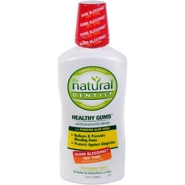 The Natural Dentist Moisturizing Healthy Gums Antigingivitis Rinse, Peppermint Twist 16.90 oz