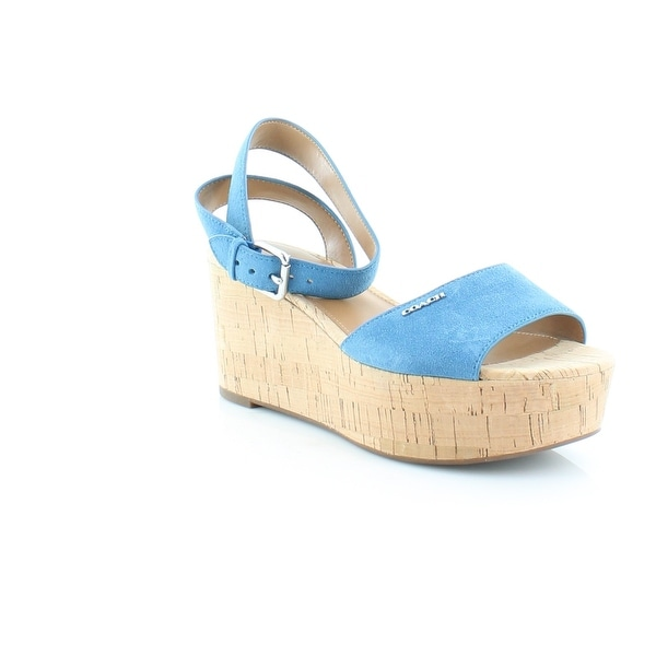 Coach Becka Women's Sandals LAPIS - 8