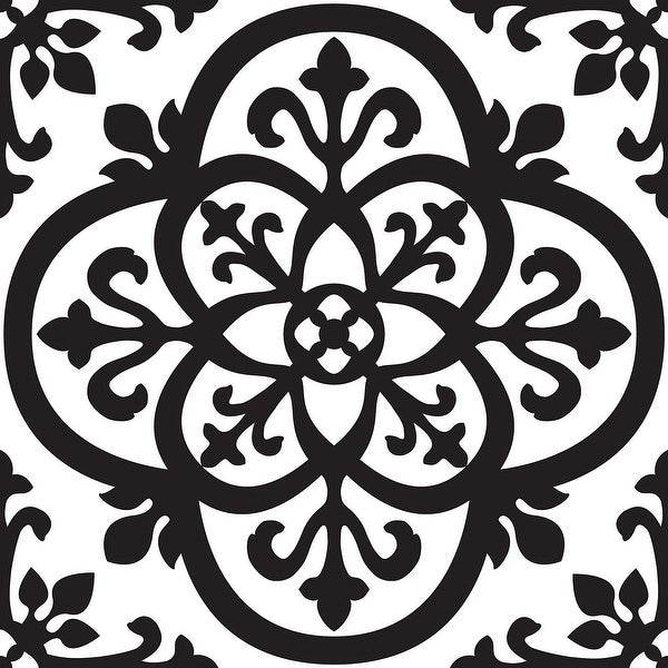 """Brewster TWPB93854 13"""" x 13"""" - Tangier Blox - Self-Adhesive Repositionable Vinyl Wall Decal - Set of 8"""