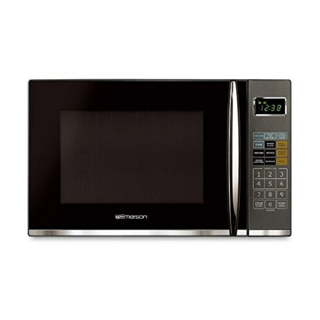 emerson mwg9115sb 1 2 cu ft 1100w touch control stainless steel microwave oven w grill