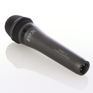 LyxPro HHMX-15 Professional Handheld Vocal Dynamic Cardioid Microphone