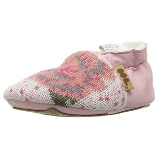 Muk Luks Kids' Baby Soft Shoes-Pink Mary Jane Flat - 12-18 months m us infant