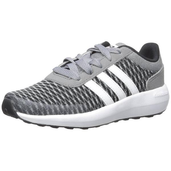 run shoes look for 2018 shoes Shop adidas NEO Boys' Cloudfoam Race K Running Shoe, Black ...