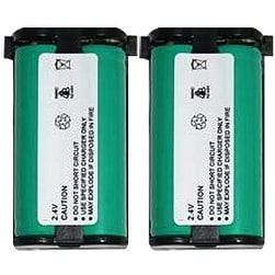 High-Capacity Cordless Phone Replacement Battery 2 PACK for HHR-P513 for use with KX-TG2208B & More