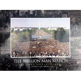 Million Man March Poster 20 Year Anniversary (18x24)