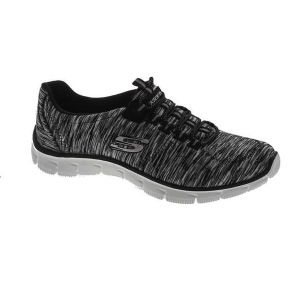 Memory Foam Sneakers Shoes - Black