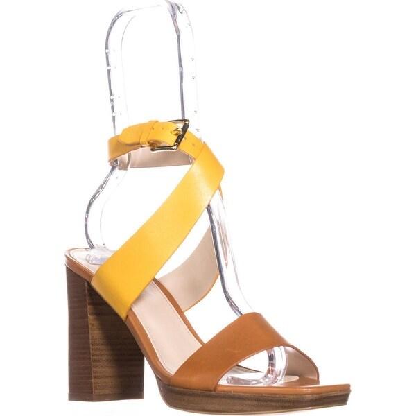 Cole Haan Fenley High Platform Dress Sandals, Sandshell/Floral - 10.5 us
