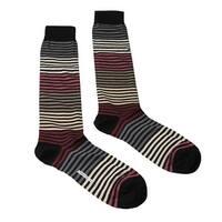 Missoni GM00CMU5233 0002 Multicolored Knee Length Socks - S