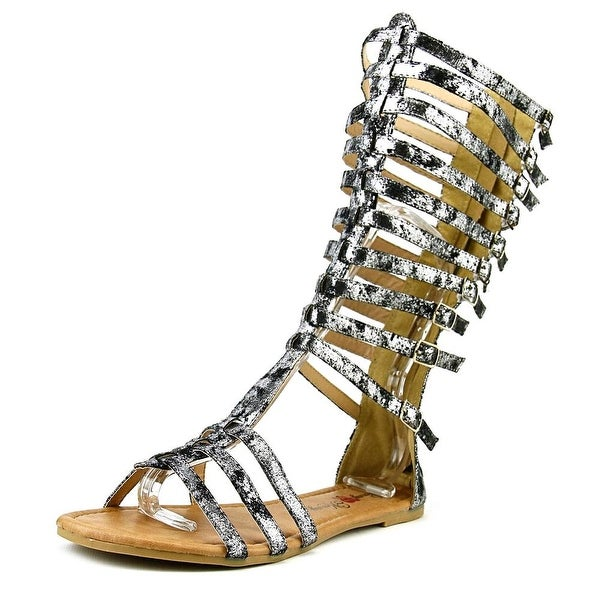 Penny Loves Kenny Tristen Women Open Toe Synthetic Gladiator Sandal