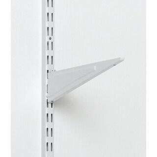 """Closetmaid 2854 Wire Shelving Bracket, 16"""", White"""