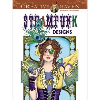 Dover Publications-Creative Haven: Steampunk Designs